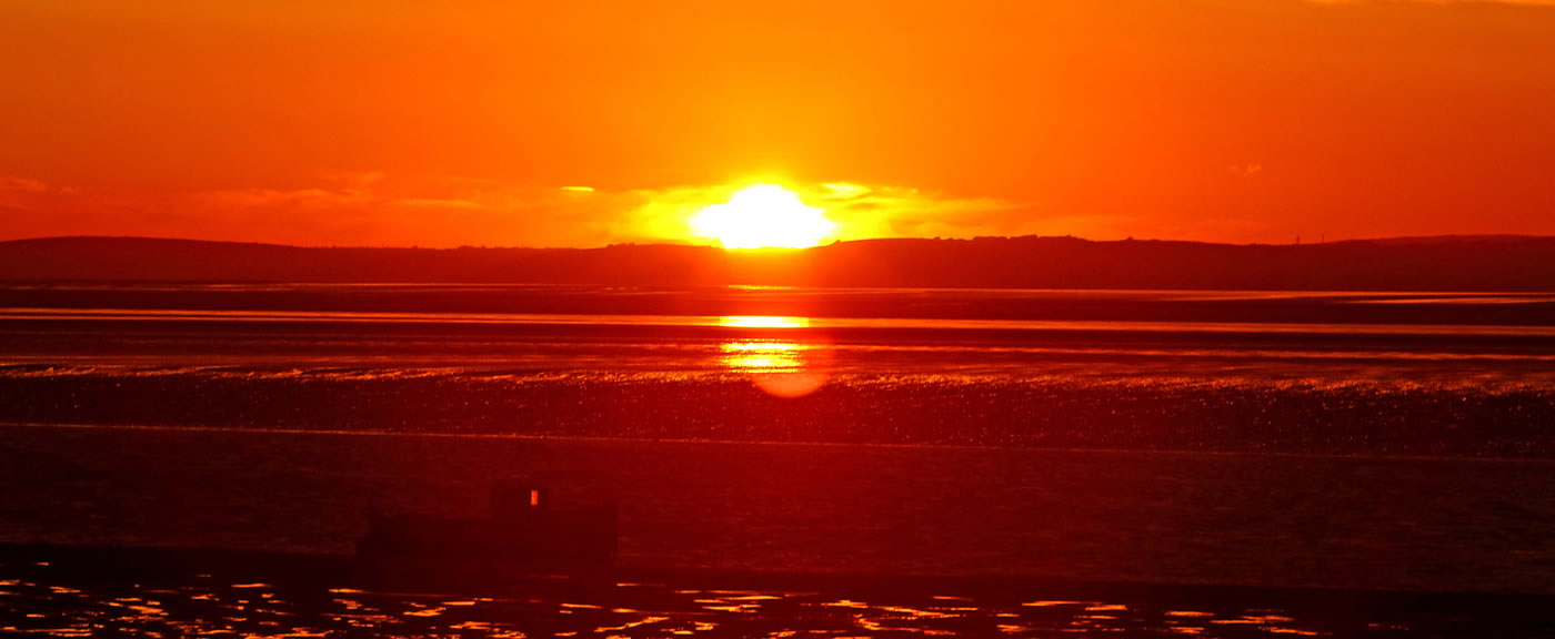 Beautiful Sunsets Across <strong>Morecambe Bay</strong>