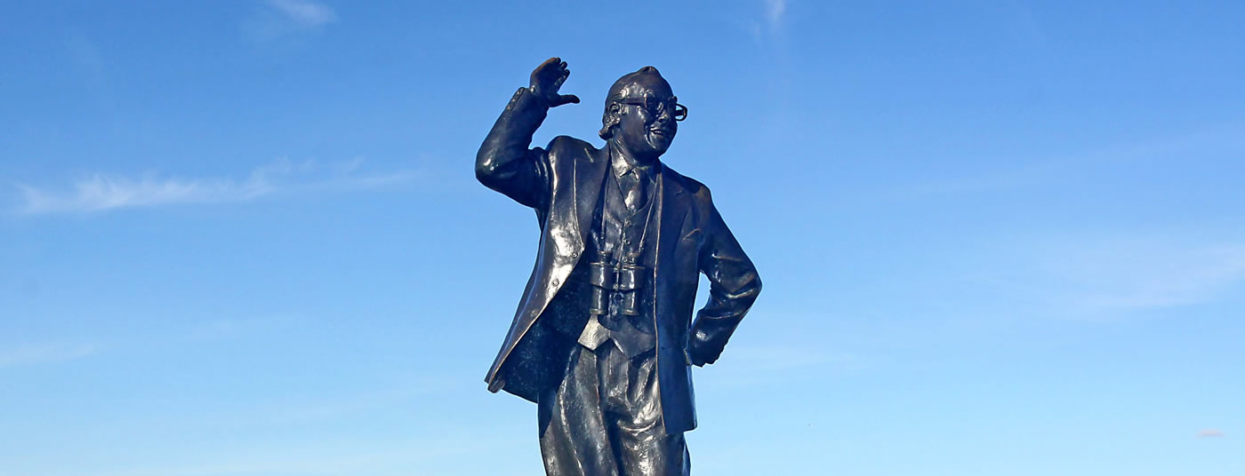 Comedy Legend Opposite Us - <strong>Eric Morecambe</strong>